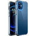 YEMODO Case Compatible with iPhone 12 Pro/iPhone 12 6.1 inch 2020,Lightweight Slim Shockproof Hard Heavy Duty Protection Durable Strong Protective Phone Cases Cover,Clear