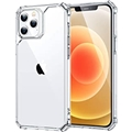 ESR Air Armor Compatible with iPhone 12 Case/Compatible with iPhone 12 Pro Case (2020) [Military-Grade Drop Protection] [Shock-Absorbing Corners] Hard PC + Flexible TPU Frame, 6.1
