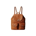 COACH Refined Pebble Leather Turnlock Tie Rucksack