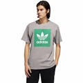 Adidas Solid Blackbird Logo T-Shirt - Mens