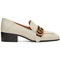 Gucci Off-White Peyton Loafers