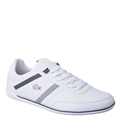 Lacoste White Mens Casual Sneaker Giron