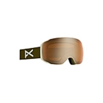 Anon M2 Goggle and Spare Lens 18557102366NA, Lens Color: Sonar Bronze, Color: Olive, w/ Free S&H