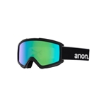 Anon Helix 2.0 Sonar Goggle and Spare Lens 20178100040, Lens Color: Sonar Green, Color: Black, w/ Free Shipping