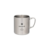 Snow Peak Insulated Stainless Steel Mug 450 MG-214, Application: Camping, Outdoor, Volume: 15, Container Volume: 15,