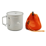 TOAKS Titanium 1100ml Pot POT-1100, Color: Grey, Weight: 4.8, Capacity: 1100, Diameter: 115,