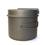 TOAKS Titanium 1600ml Pot w/Pan CKW-1600, Color: Grey, Volume: 490, Weight: 8.2, Capacity: 1600, Diameter: 142, 145, w/ Free S&H
