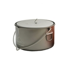 TOAKS Titanium 2000ml Pot w/Bail POT-2000-BH, Color: Grey, Weight: 9.1, Capacity: 2000, Diameter: 170, w/ Free Shipping