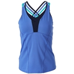 Lucky in Love Womens Lite Speed Double Cross Cami