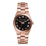 Michael Kors Womens Channing Rose Gold
