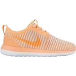 NIKE Womens Roshe Two Flyknit Running Trainers 844929 Sneakers Shoes (UK 5.5 US 8 EU 39, Peach Cream 800)