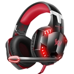 VersionTECH. G2000 Gaming Headset, Surround Stereo Gaming Headphones with Noise Cancelling Mic, LED Light & Soft Memory Earmuffs, Works with Xbox One, PS4, Nintendo Switch, PC Mac