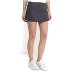 NIKE Womens Dri-Fit Nikecourt Baseline Tennis Skirt-Gray