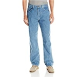 Wrangler Authentics Mens Classic 5-Pocket Relaxed Fit Cotton Jean