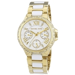 Michael Kors Womens Camille Gold