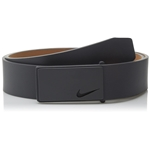Nike Mens Sleek Modern Plaque Belt