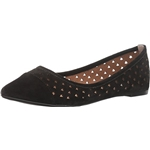 Steve Madden Anslee Women Pointed Toe Suede Black Flats