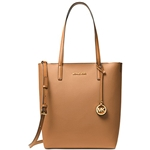 Michael Kors Womens Hayley Large Logo North South Tote Bag