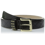 Steve Madden Womens Quilted Pant Belt