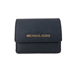 Michael Kors Jet Travel Credit Card Case ID Wallet with Key Ring