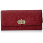 MICHAEL Michael Kors Large Carryall Wallet Cherry