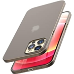 TOZO Compatible for iPhone 12 and iPhone 12 Pro Case 6.1 inch Ultra Thin Hard Cover 0.35mm Worlds Thinnest Protect Bumper Slim Fit Shell Semi Transparent Lightweight with Matte Fin