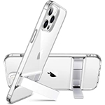 ESR Metal Kickstand Compatible with iPhone 12 Case/Compatible with iPhone 12 Pro Case (2020) [Patented Design] [Two-Way Stand] [Reinforced Drop Protection] Flexible TPU Soft Back,