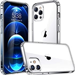 Mkeke Compatible with iPhone 12 Case, iPhone 12 Pro Case Clear 6.1 Inch 2020