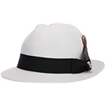Stacy Adams Matte Toyo Fedora