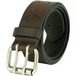 Dickies Mens Leather Double Prong Belt