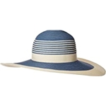 Calvin Klein Color Block Stripe Sun Hat