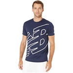 New Balance Printed Accelerate Short Sleeve