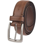 Columbia Mens Classic Logo Belt - Casual Dress with Single Prong Buckle for Jeans Khakis