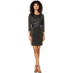 BCBGMAXAZRIA Round Neck Knit Dress