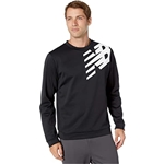 New Balance Graphic Tenacity Fleece Crew