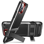 ESR Machina Series Designed for iPhone 12 Case/12 Pro Case [Military-Grade Drop Protection] [Patented Vertical/Horizontal Kickstand] for iPhone 12/12 Pro 2020, 6.1-Inch ? Black