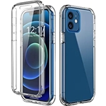 TOPSKY Case Compatible with iPhone 12 Pro/iPhone 12 6.1 inch 2020,Built-in Screen Protector Full Body Shockproof Heavy Duty Protection Durable Protective Strong Phone Cases Cover,T
