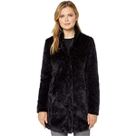 Kenneth Cole New York Stand Collar w/ Faux Fur
