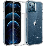 ESR Clear Glitter Case for iPhone 12/12 Pro [Wireless Charging Ready] [Slim & Clear] Shimmer Series