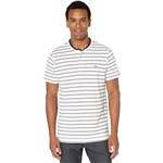 U.S. POLO ASSN. Short Sleeve Henley Striped T-Shirt