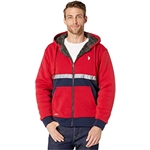 U.S. POLO ASSN. Color Block Hoodie w/ Reflective Stripe