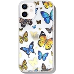 Sonix Butterfly Effect Case for iPhone 12 / 12Pro [10ft Drop Tested] Womens Protective Cute Butterfly Clear Cover for Apple iPhone 12, iPhone 12 Pro