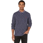 U.S. POLO ASSN. Long Sleeve Space Dye Crew