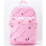 Zumiez Champion Supercize Allover Repeat Pink Backpack