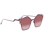 Fendi Can Eye Pink Shaded Geometric Ladies Sunglasses FF0261S0T73X57 FF0261S0T73X57
