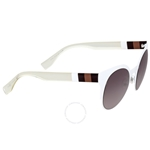 Fendi Cat Eye Grey Shade Sunglasses FF 0080/S E2OEU