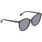Fendi F is Fendi Grey Round Ladies Sunglasses FF0310FS8079O58 FF0310FS8079O58