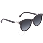 Fendi Gray Round Ladies Sunglasses FF 0231/S 807529O FF 0231/S 807529O