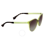 Fendi Logo Olive Green Grey Shaded Sunglasses FF 0078/S E0IN6
