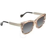 Fendi Kinky Thierry Lasry Grey Gradient Square Ladies Sunglasses FF 0180/S VDO/VK -54 FF 0180/S VDO/VK -54